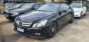 2010 Mercedes Coupe